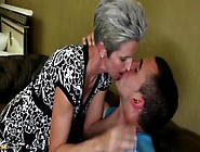 Mature Skinny Lady Suck And Fuck Young Boy&#3...