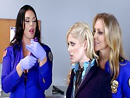 Three Hot Women Are Fucking Each Other In The...