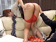 Masked Man Wanks As He Watches The Pretty Jap...