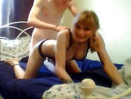 College Teen Gets Her First Facial On Home Vi...