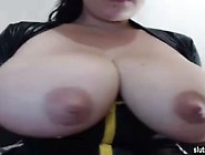 Latina With Beautiful Huge Tits Milk. Mp4