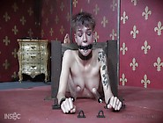 Helpless Teen Gets Awfully Aroused And Tortur...