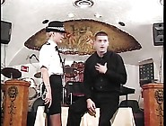 British Police Woman Spanked
