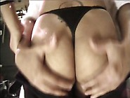 Asian Babes Eat Ass And Suck Dick While Getti...