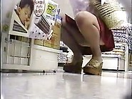 Upskirt At Grocery Store