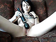 Brunette Seductress Toys Her Pussy To Orgasm ...