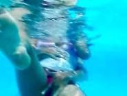 Is Touched In The Pool,  Manoseada En La Pisc...