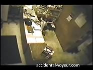 Hidden Camera Boss's Daughter Rubs One Ou...