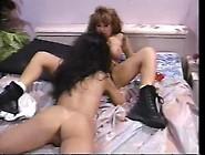 Big Tittied Lesbians Roughly Scissors Their P...