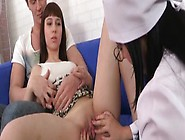 Sam The Vigin Gets Her Hymen Checked By A Nur...