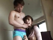 Mama Stands Yielding And Enjoys Harsh Sex Wit...