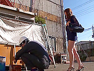 Public Sex Down An Alley With A Sexy Japanese...