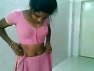 Adorable Indian Desi Woman In Fucking And Red...