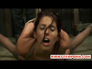 Fetish Slave Lavender Rayne Anal Hooked A...