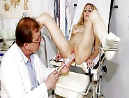 Blonde Teen Sam Gyno Vaginal Douche Cleansing