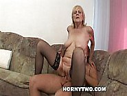 Horny Juicy Old Granny Gets Her Fat Wet Shave...