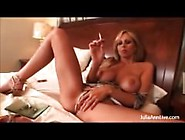 Julia Ann-Smoking Fetish Masturbation,