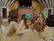 Girl Scout Threesome! (Vr)