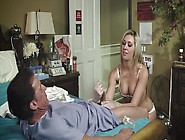 Visiting Nurse Offers The Patient A Handjob A...