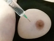 Large Needle 10Ml Saline Breast Injection In ...