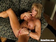 Pussy Pumping Clit Fun With A Beautiful Stron...