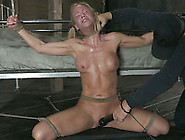 Pigtailed Tanned Blonde Milf Is Fixed With Ro...