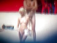 Nudist Beach Has Lots Of Naked People Showing...