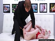 Teen Gets A Spanking And Fingering