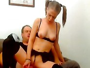 Amature Gives A Hand And Suck Job Before Fuck...