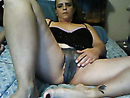 Mature Derty White Lady On Webcam Flashed Her...