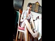 A Hidden Cam Neighbor Legs Upskirt
