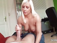 German Step-Sister Caught Brother And Help Wi...