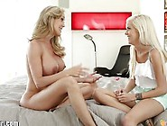 Mommysgirl Teens First Lesbian Sex With Step-...