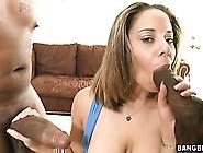 Two Big Black Cocks Go At This Pretty Teen'...