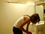College Girl Toilet