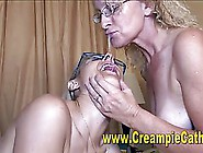 Kinky Lady Likes To Eat Cum As Well As To Spi...