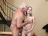 Chubby And Horny Old Man Receives Blwojob Fro...