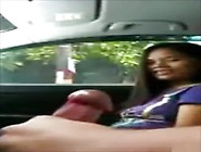 Hitchhiker Gives A Handjob