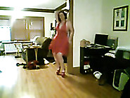 My Sex-Crazy Wife Dancing Hot Striptease