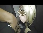 Blindfolded White Woman Gangbanged By Black G...