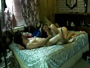 Milf On Phone With Husband While Having Sex W...