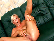 Filthy Old Granny Strips And Stretches Her Pu...