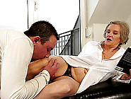 Filthy Granny Is Getting Dicked Deep In Her O...