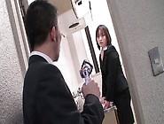 Kinky Office Slut Haruna Sendo Seduces Her Co...