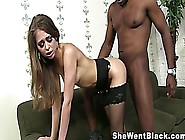 Hairy Pussy Riley Reid Squirts On A Black Coc...