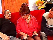 Redhead German Moms First Extreme Double Pene...