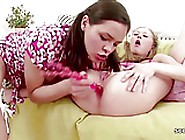 Petite Virgin Teens Get First Lesbian Time Wh...