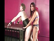 Strapon Training A Cuckold Slave