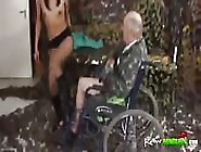 Babe Nurse Fucked By Man In A Wheelchair