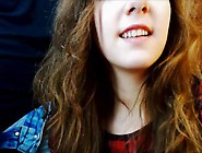 Cute Blue Eyed Girl Gives Blowjob More On Bea...